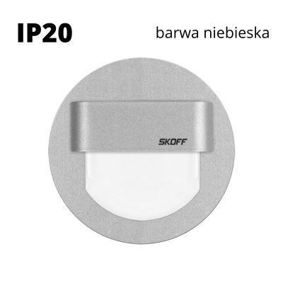 Oprawa schodowa LED Skoff Rueda alu Niebieska IP20