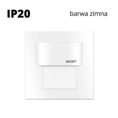 Oprawa schodowa led Skoff Tango Mini Biała Biała zimna IP20