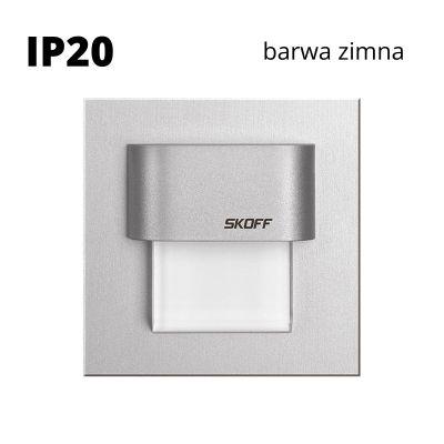 Oprawa schodowa led Skoff Tango Stick Alu Biała Zimna IP20