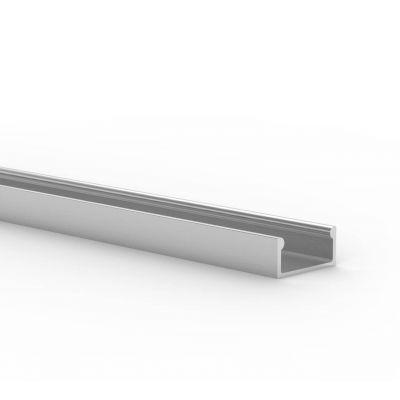 Profil LED Greenie P4-1S 1m srebrny anodowany nawierzchniowy