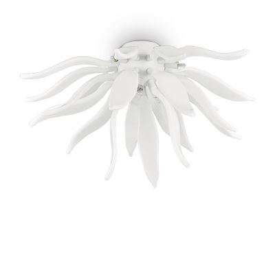 Plafon IdealLux 112299 Leaves PL6 Bianco