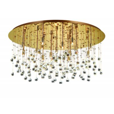 Plafon IdealLux 82790 Moonlight PL15 Oro