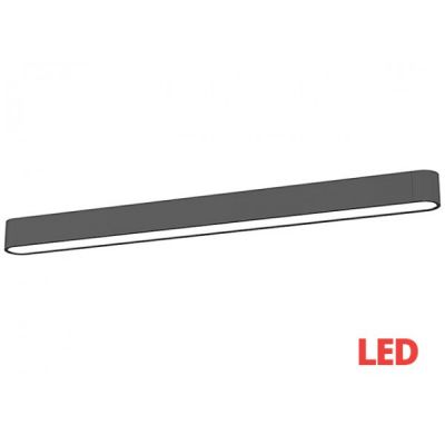Plafon Nowodvorski Lighting 9536 Soft LED Graphite 90 x 6