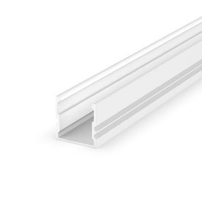 Profil LED Greenie P5-1B2 2m nawierzchniowy głęboki biały lakierowany