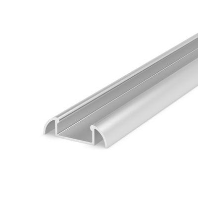 Profil LED Greenie P2-1S nawierzchniowy anodowany srebrny