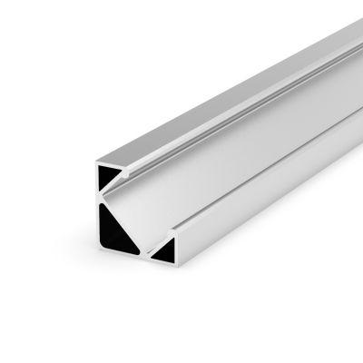 Profil LED Greenie P3-1S 1m Typ C kątowy srebrny anodowany