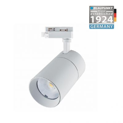 Blaupunkt Reflektor LED 3-fazowy Vision 30W biały z przełącznikiem barwy światła