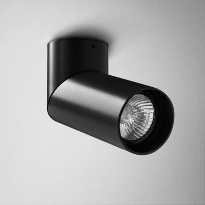 Reflektor AQForm Rotto Spot Czarny Mat