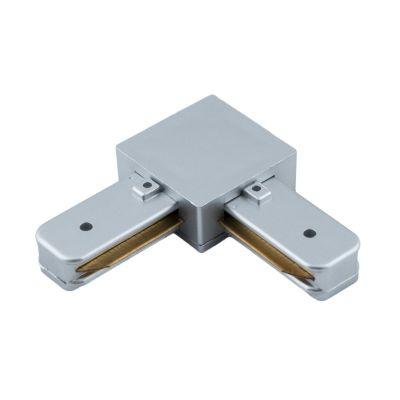 Konektor do szyn 1-fazowych typ L (kątowy) srebrny Greenie