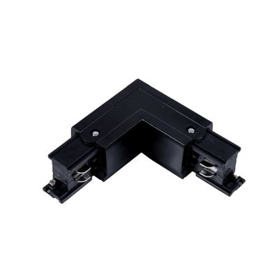 Konektor do szyn 3-fazowych TYP L - czarny