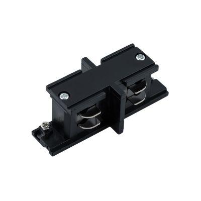 Konektor do szyn 3-fazowych prosty – czarny