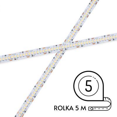 Taśma LED 240 diod 2835SMD 18,8W/mb, 24 Biała Naturalna Rolka 5m