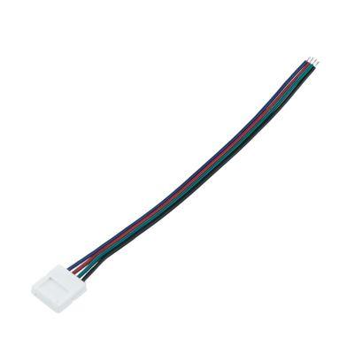 Przyłącze do taśm LED RGB ze złączką i przewodem do zasilania Greenie