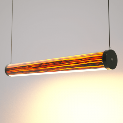 Lampa LED Wooden TUBE Apple Wi-Fi-Control
