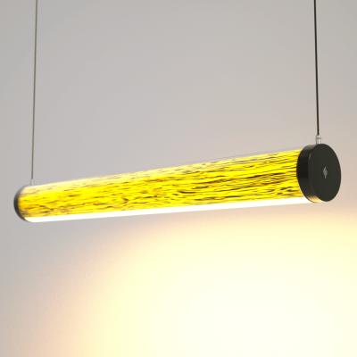 Lampa LED Wooden TUBE Birch Wi-Fi-Control
