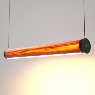Lampa LED Wooden TUBE Tulip Wi-Fi-Control