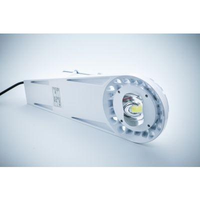 Oprawa uliczna LED Bridgelux 20W MeanWell driver IP65 aluminiowa biała obudowa