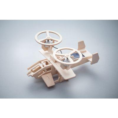 Zabawka drewniana solarna - samolot Avatar