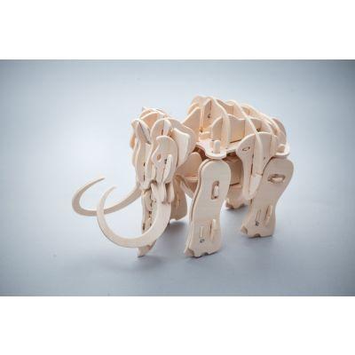 Zabawka drewniana sterowana dźwiękiem - Mamut