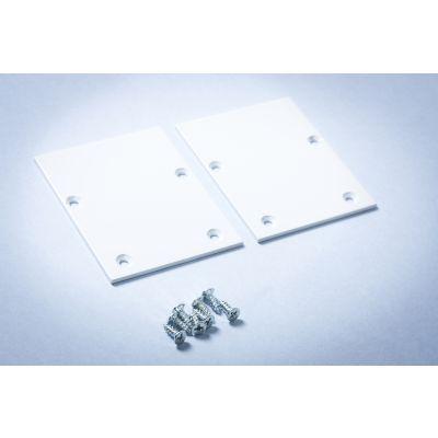 Zaślepka do końcówki opraw/profili liniowych LED Linea - biała