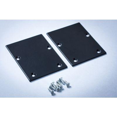 Zaślepka do końcówki opraw/profili liniowych LED Linea - czarna