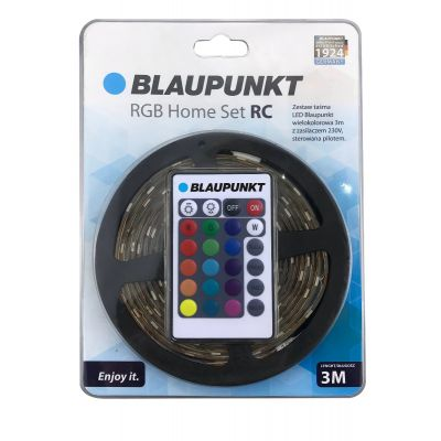 Zestaw taśma LED Blaupunkt RGB 12V 3M IP65 PILOT+CE ADAPTER blister
