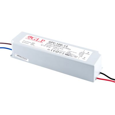 Zasilacz Impulsowy 12V GPV-100 100W IP67 wodoodporny