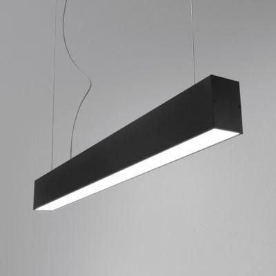 Zwis AQForm Tru LED 114 cm Czarny Struktura