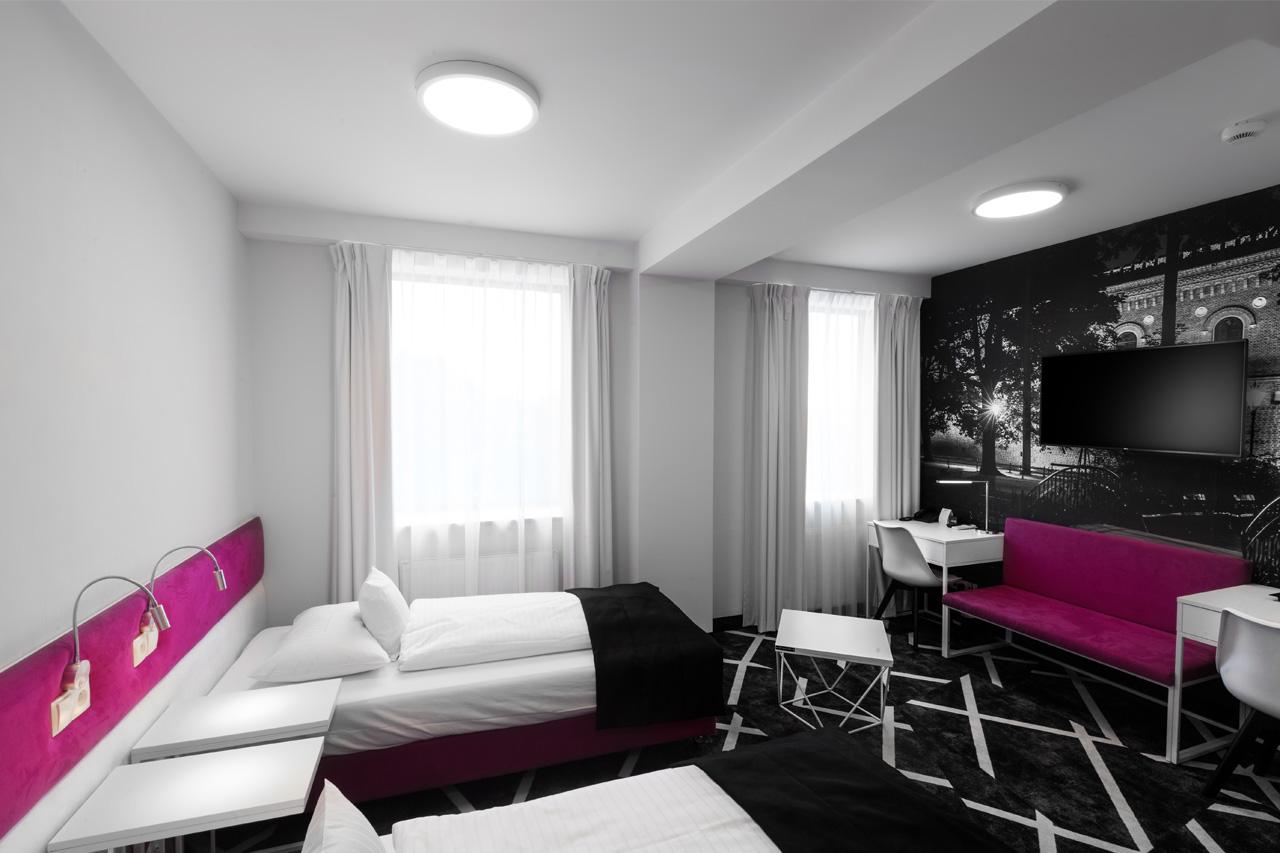 Realizacja z wykorzystaniem oświetlenia LED w Hotelu Best Western Old Town