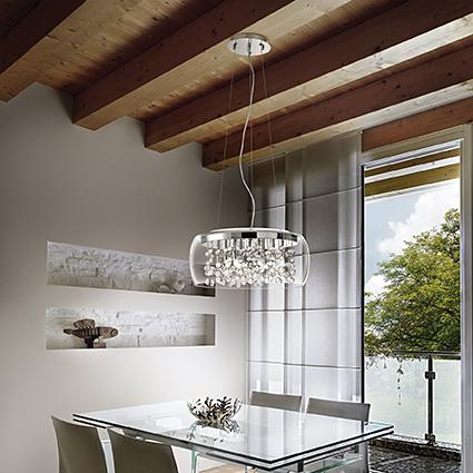 nowoczesna lampa led: Ideal Lux AUDI-80 SP5