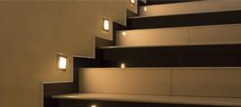 Oświetlenie LED na korytarz i podświetlenie schodów