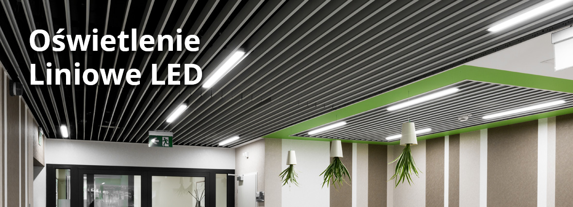 Oświetlenie liniowe LED